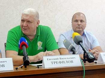Евгений Трефилов и Сергей Вальтер