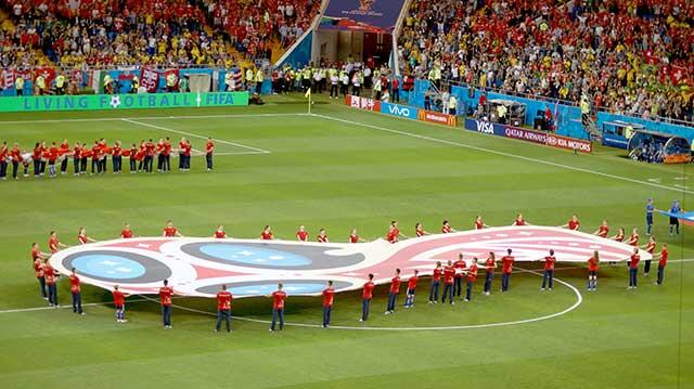 Церемония открытия матча